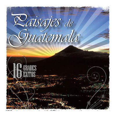 Disco-Compacto-Paisajes-De-Guatemala-16-Grandes-Exitos-90108-2---Jaguar-Record