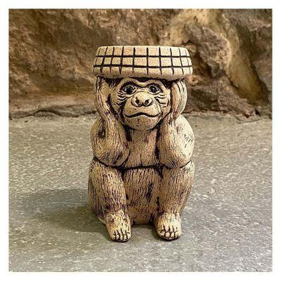Figura-De-Piedra-Ceramicas-Diseño-Mono-Sabio-Oir---Ceramicas-Mundo-Maya