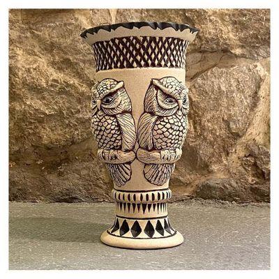 Florero-De-Piedra-Ceramicas-Diseño-Tecolote---Ceramicas-Mundo-Maya