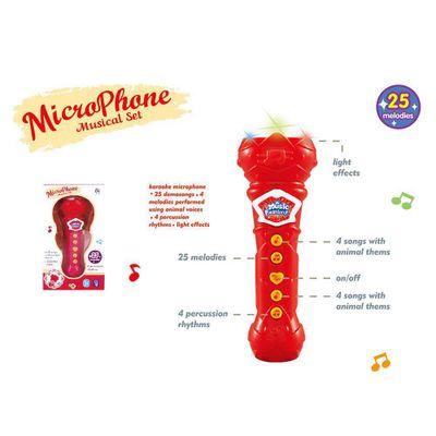 Microfono-De-Juguete-Pequeño-Rojo