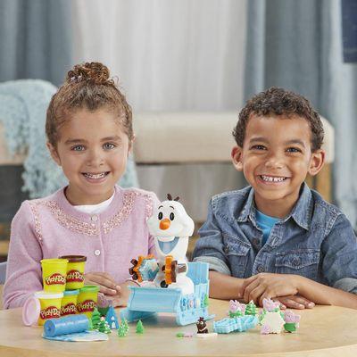 Play-Doh-Olaf
