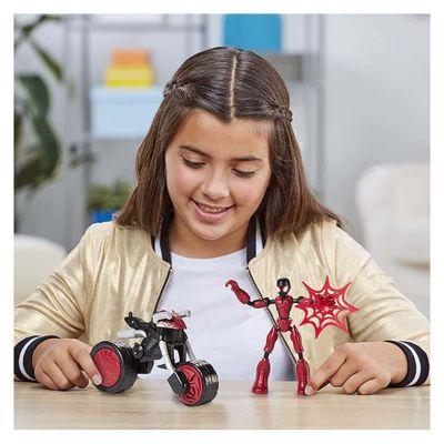 Figura-De-Accion-Vehiculo-Bend-And-Flex---Spider-Man
