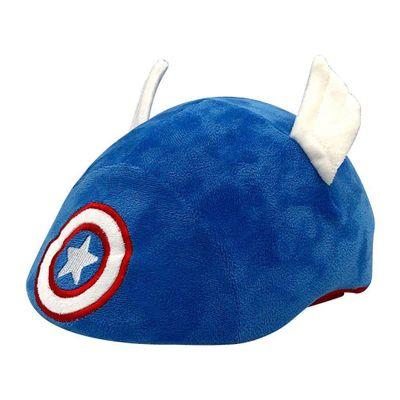 Casco-3D-Capitan-America-Con-Funda-De-Peluche---Marvel