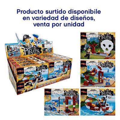Set-De-Juego-Bloques-Con-Diseño-De-Piratas---Blast-Track