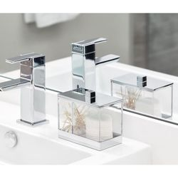 Algodonera-y-Porta-Hisopos-Clarity---Interdesign