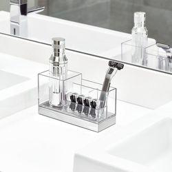 Organizador-De-Baño-Clarity-Transparente---Interdesign