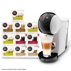 Kit-Maquina-Genio---10-Cajas-Capsulas---Nescafe